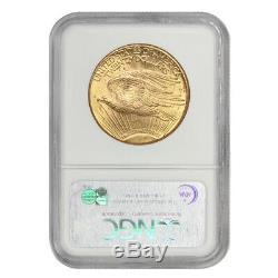 1926 $20 Gold Saint Gaudens NGC MS63 Double Eagle Choice Twenty Dollar Coin