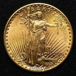 1926 $20 Saint Gaudens Gold Double Eagle Item#P14494