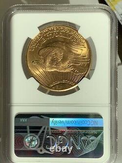 1926 $20 Saint Gaudens Gold Double Eagle NGC MS65+ Plus! 6039254-001