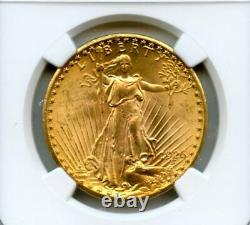 1926 $20 Twenty Dollar Saint Gaudens Double Eagle Gold Coin MS 64