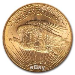 1926-D $20 Saint-Gaudens Gold Double Eagle MS-61 NGC