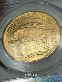 1926 PCGS MS65+ $20 Gold Saint Gaudens Double Eagle