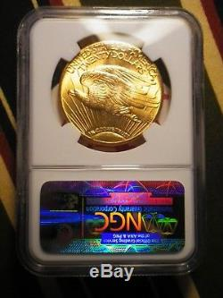 1927 $20.00 Gold St. Gaudens Double Eagle NGC MS 65 CAC Certified
