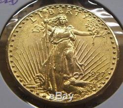 1927$20 Dollar Gold St. Gaudens Double Eaglebeauty