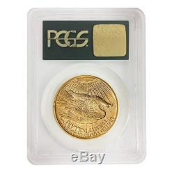 1927 $20 Gold Saint Gaudens Double Eagle Coin PCGS MS 62