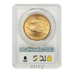 1927 $20 Gold Saint Gaudens PCGS MS65 PQ Approved Gem Double Eagle Coin Twenty