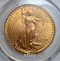 1927 $20 Gold St. Gaudens Double Eagle PCGS MS 66
