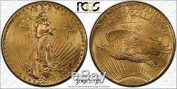 1927 $20 Gold St. Gaudens Double Eagle PCGS MS65