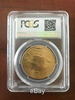1927 $20 Gold St Gaudens Double Eagle PCGS MS66 UNC GEM Twenty Dollar Coin