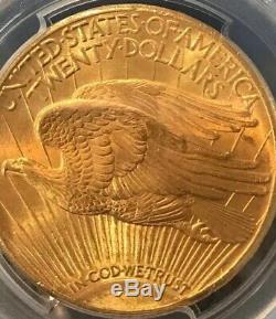 1927 $20 Pcgs Ms65 Gold St. Gaudens Double Eagle Graded Coin