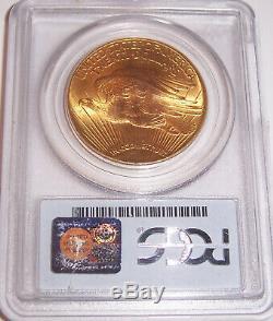 1927 $20 Philadelphia Gold GEM St Gaudens Double Eagle PCGS MS66