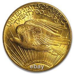 1927 $20 Saint-Gaudens Gold Double Eagle MS-62 PCGS