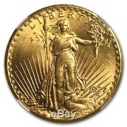 1927 $20 Saint-Gaudens Gold Double Eagle MS-64 NGC SKU#11182