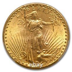 1927 $20 Saint-Gaudens Gold Double Eagle MS-64+ PCGS SKU#181083