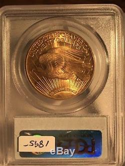 1927 $20 Saint Gaudens Gold Double Eagle PCGS MS65 03852651