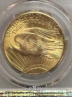 1927 $20 Saint Gaudens Gold Double Eagle PCGS MS66! 81882779