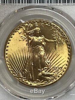 1927 $20 Saint Gaudens Gold Double Eagle PCGS MS66 Exquisite Superb Gem