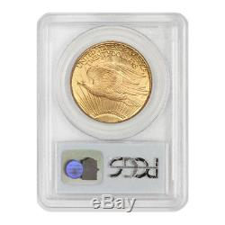 1927 $20 Saint Gaudens PCGS MS65 Gem Graded Philadelphia Gold Double Eagle Coin