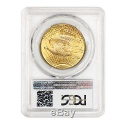 1927 $20 Saint Gaudens PCGS MS66 PQ Approved Gem Graded Double Eagle Gold Coin