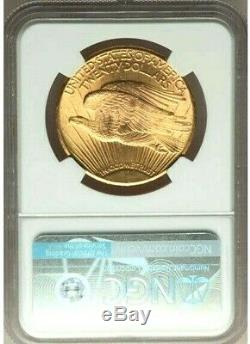 1927 $20 St Gaudens Gold Double Eagle SGC MS64 - Thisclose to GEM MS