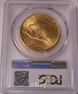1927 $20 St Gaudens PCGS MS65 GEM Philadelphia Gold Double Eagle