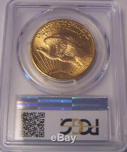 1927 $20 St Gaudens PCGS MS66 GEM Philadelphia Gold Double Eagle