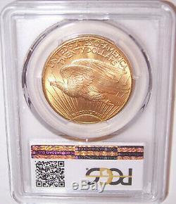 1927 $20 St Gaudens PCGS MS66 Gold Shield GEM Philadelphia Gold Double Eagle