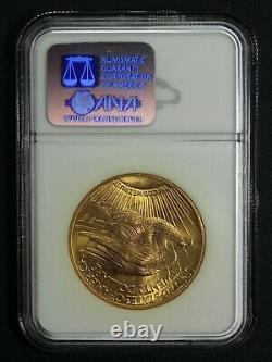 1927 $20 Twenty Dollar St Gaudens Gold Double Eagle NGC MS 64