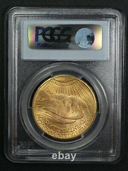 1927 $20 Twenty Dollar St Gaudens Gold Double Eagle PCGS MS 64 CAC