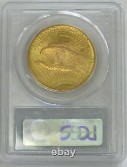 1927 Gold $20 Saint Gaudens Double Eagle Coin Pcgs Mint State 65