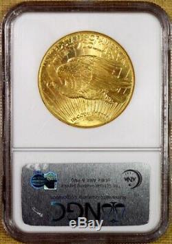 1927 NGC MS65 $20 Saint Gaudens Gold Double Eagle