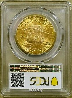 1927 PCGS MS65+ $20 Saint Gaudens Gold Double Eagle (#2)