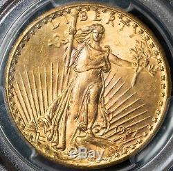 1927 PCGS MS65 $20 Saint Gaudens Gold Double Eagle Item#T10227