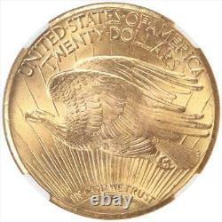 1927 St. Gaudens $20 Gold Double Eagle NGC MS66 STAR SUPER GEM