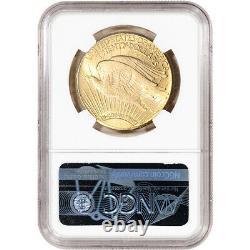 1927 US Gold $20 Saint-Gaudens Double Eagle NGC MS64