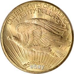 1927 US Gold $20 Saint-Gaudens Double Eagle PCGS MS65+ Plus Grade