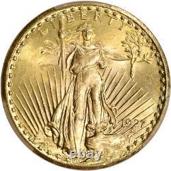 1927 US Gold $20 Saint-Gaudens Double Eagle PCGS MS66