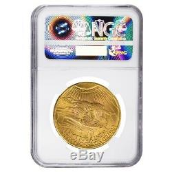 1928 $20 Gold Saint Gaudens Double Eagle Coin NGC MS 64