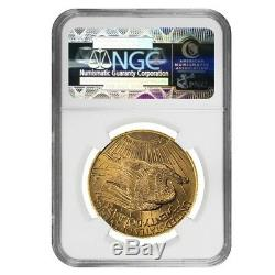 1928 $20 Gold Saint Gaudens Double Eagle Coin NGC MS 65 (Star)
