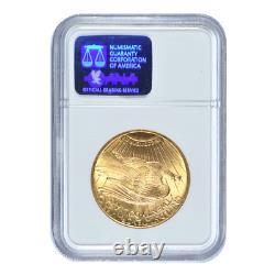 1928 $20 Gold Saint Gaudens Double Eagle NGC MS63