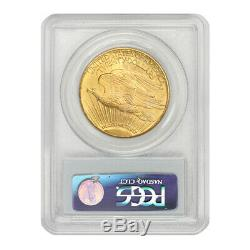 1928 $20 Gold Saint Gaudens PCGS MS66 gem graded Philadelphia Double Eagle coin