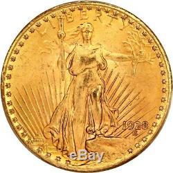 1928 $20 PCGS MS65 Saint Gaudens Double Eagle Gold Coin