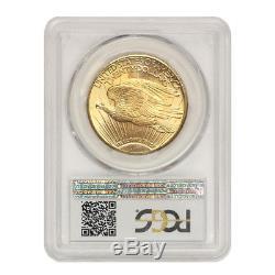 1928 $20 Saint Gaudens Double Eagle PCGS MS66 Gem graded Gold coin Lustrous