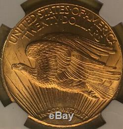 1928 $20 Saint Gaudens NGC MS65 Gold Double Eagle Coin Proof Like Surfaces