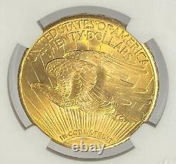 1928-P $20 Saint Gaudens Gold Double Eagle Pre 33 NGC MS66+ Amazing Super Gem+