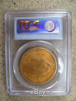 1928 PCGS MS62 $20 St. Gaudens Double Eagle Gold Coin