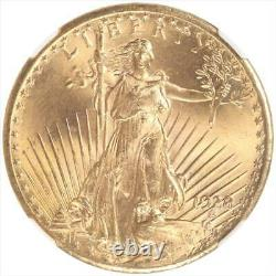 1928 St. Gaudens $20 Gold Double Eagle NGC MS66 STAR SUPER GEM BU