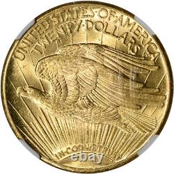 1928 US Gold $20 Saint-Gaudens Double Eagle NGC MS63