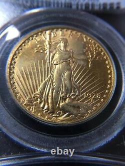 1928 US Gold $20 Saint Gaudens Double Eagle PCGS MS63