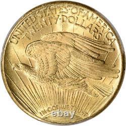 1928 US Gold $20 Saint-Gaudens Double Eagle PCGS MS64+